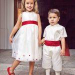 foto Niños porteadores de anillos ceremonia de boda.