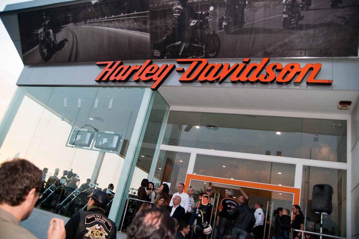 fotografia de evento - Fiestas Populares - Concentración Harley Davidson.