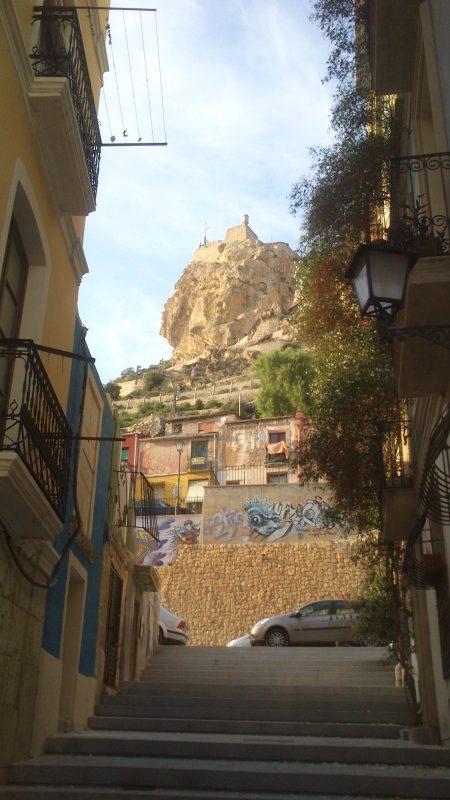 foto Castillo de Santa Barbara, en Alicante.