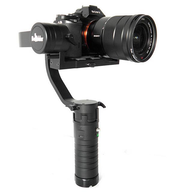 estabilizador electronico para grabación video en movimiento.