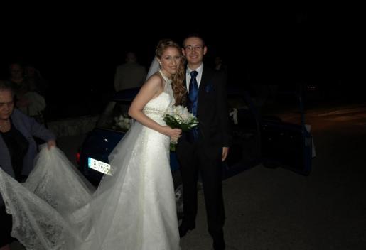 ejemplo foto oscura de boda.