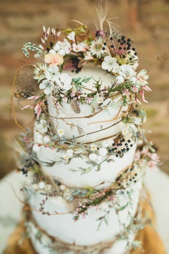 Tarta-boda-flor-enredadera
